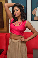 Akshita super cute Pink Choli at south indian thalis and filmy breakfast in Filmy Junction inaguration by Gopichand ~  Exclusive 054.JPG