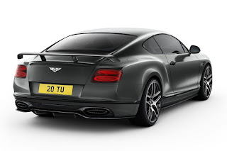 Bentley Continental Supersports (2017) Rear Side