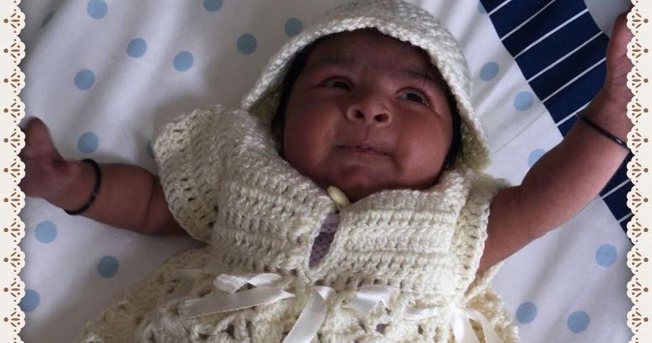 Sweet Nothings Crochet: YET ANOTHER CUTE BABY DRESS