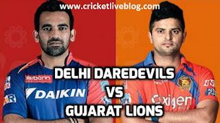 dd vs gl ipl t20 live cricket score 2016