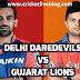 Delhi Daredevils Vs Gujarat Lions IPL Live Score 23rd Match 2016