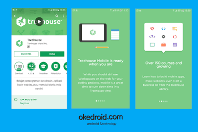 Treehouse Aplikasi Android