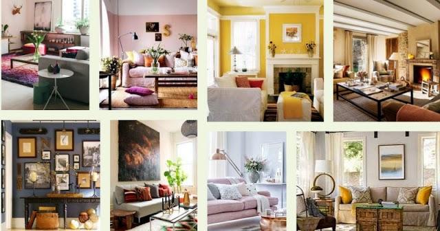 150+ Ιδέες για να βάψετε το Καθιστικό