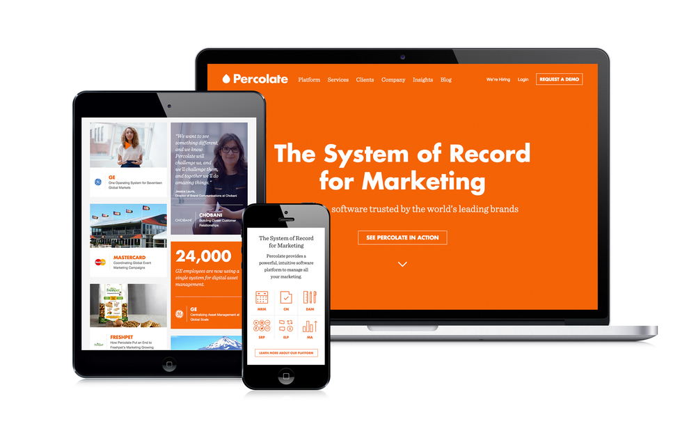 Content Marketing Platforms -  Percolate