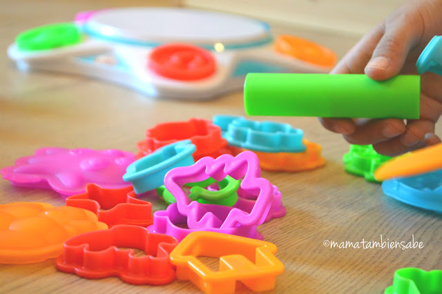 Estampadores digitales de Play Doh Touch