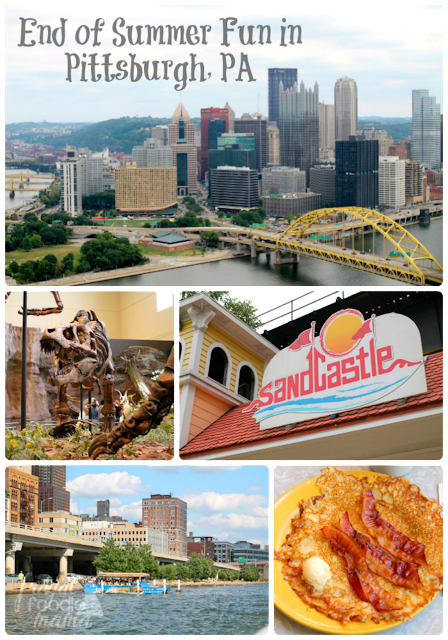 Looking to plan a little end of summer getaway to the Steel City soon? Then you definitely need to check out my 10 Must-Do's in Pittsburgh Before Summer's End. #kidsburgh #lovepgh