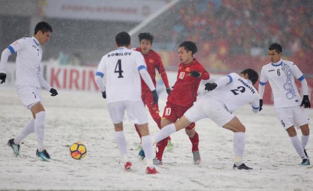 Trận đấu U23 Việt Nam và Uzbekistan không công bằng