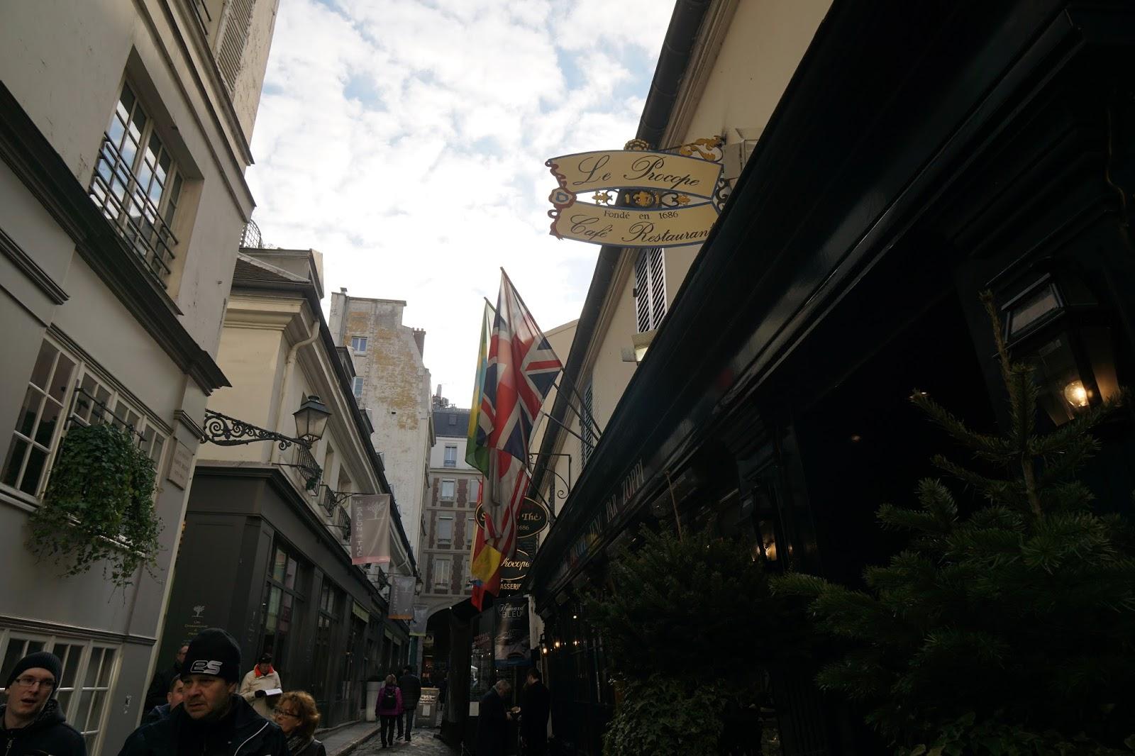 カフェ・ル・プロコープ(Cafe Le Procope)