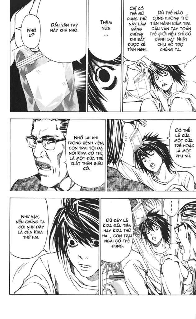 Death Note chapter 025 trang 15