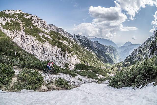 MTB - Monte Flop, Moggio - Val Aupa Mountainbike Tour Tolmezzo