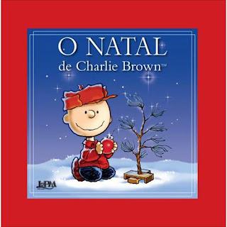 Livro O Natal de Charlie Brown