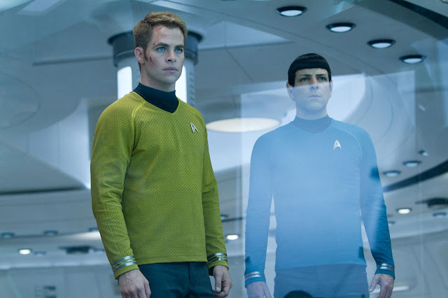 Star Trek Into Darkness - Kirk & Spock-001 | A Constantly Racing Mind