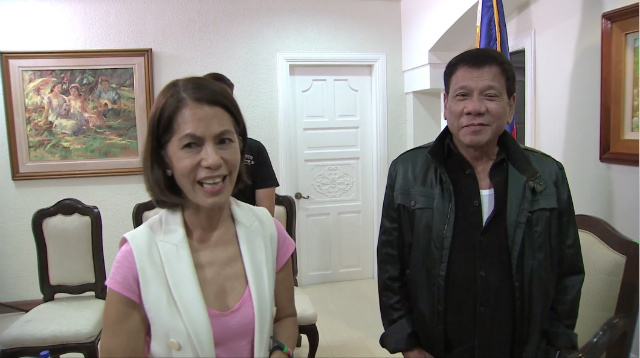 Duterte gives DENR post to ABS-CBN Foundation's Gina Lopez