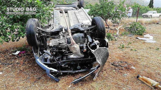 Τροχαίο ατύχημα με τραυματία στο Άργος - Τραυματίας μια γυναίκα