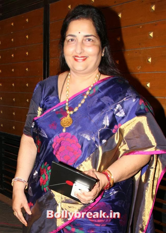 Anuradha Paudwal, Filmfare Awards 2014 Red carpet Images