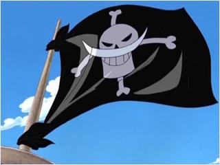 ธงโจรสลัดหนวดขาว