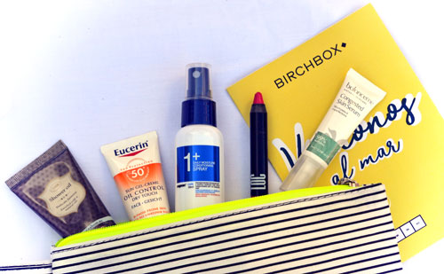 Review : Birchbox de Junio ¡ Vamonos al mar !