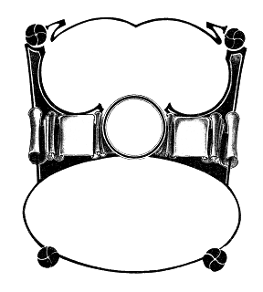 frame digital download printable crafting supply
