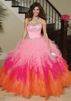 diseños de Vestidos de 15 Años Largos