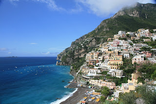 Positano, with its dramatic cliffside setting, is one of the jewels of the Amalfi Coast