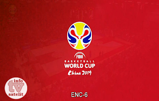 FIBA Basketball World Cup Qualifiers Biss Key AsiaSat 5 22 February 2019