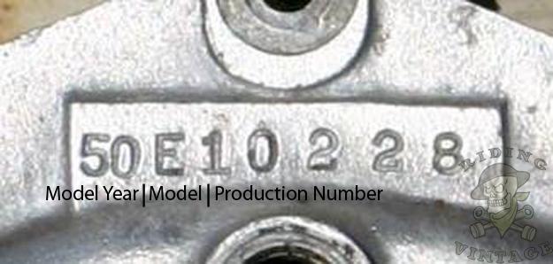 Deciphering Harley's VIN Numbers 1936 - 1964 ~ Riding Vintage