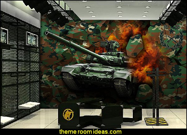 decorating theme bedrooms maries manor army theme ForArmy Wallpaper Mural