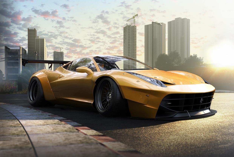 Bạn có còn nhận ra đây là siêu phẩm Ferrari 458 không?