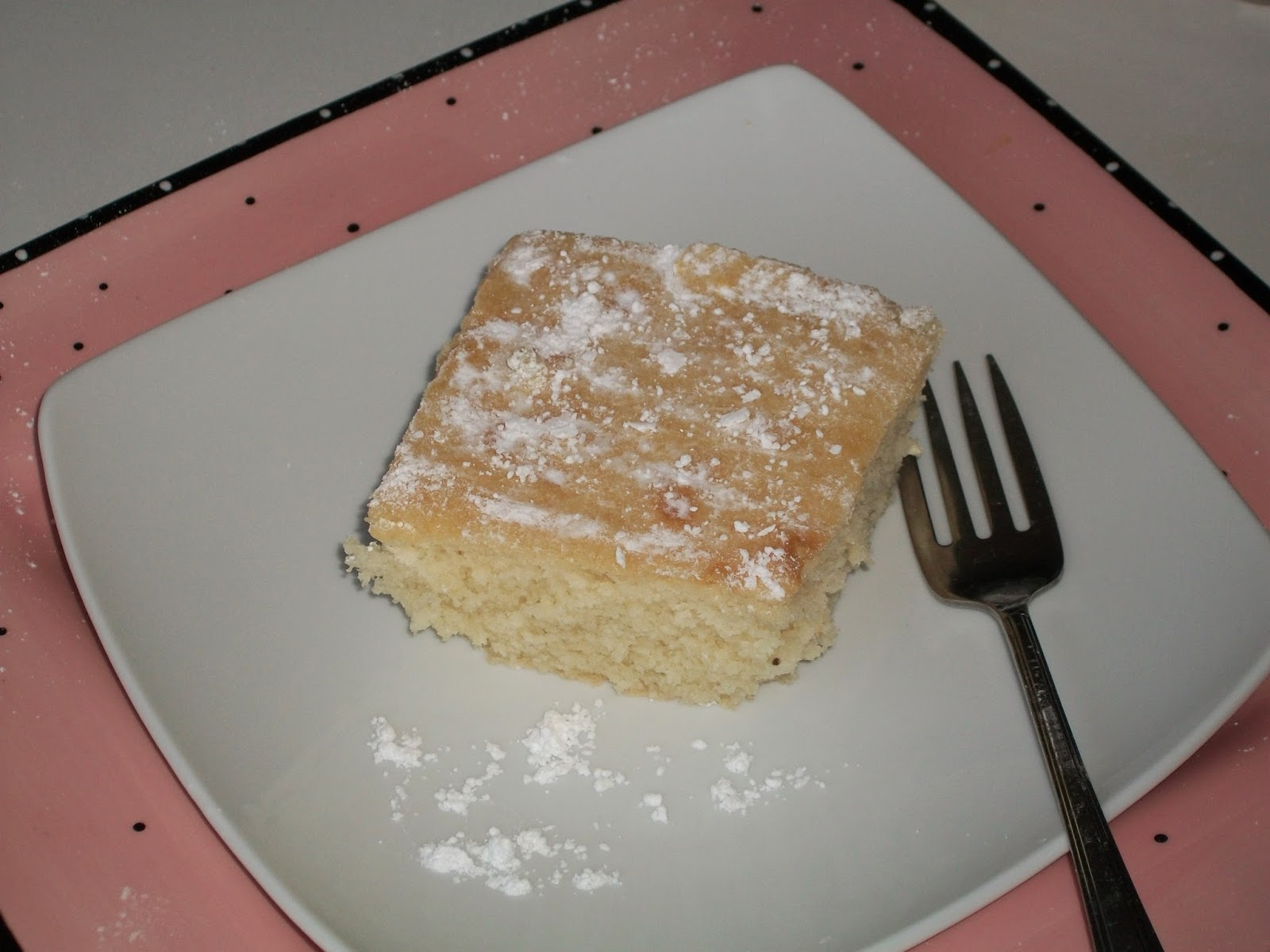 Mom Knows Best Homemade Vanilla Cake That Is Simple To Make