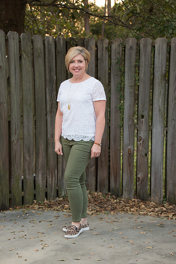 tee shirt and jeans