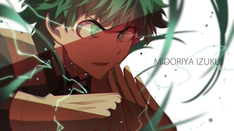 Midoriya Izuku 8k Wallpaper 5334