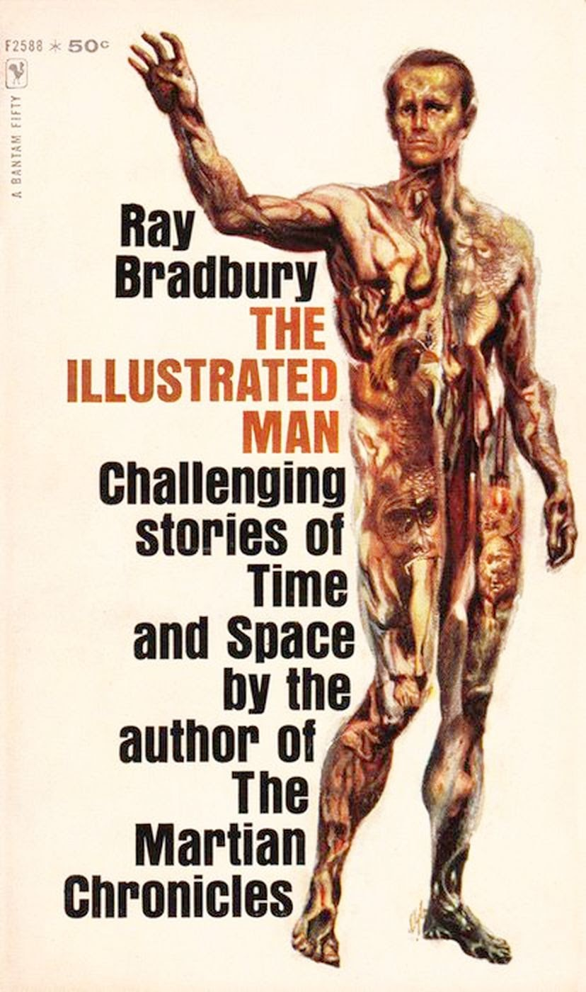 illustrated man The illustrated man is classic bradbury, a collection of eighteen startling visions of humankind's destiny, unfolding across a canvas of decorated skin, visions as keen as the tattooist's needle and as colorful as the inks that indelibly stain the body.