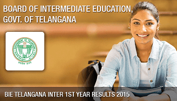 Telangana TS Inter 1st Year Results 2017