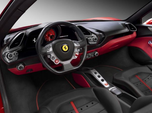 2017 Ferrari 488 GTB Scuderia Interior