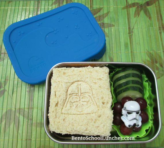 Star Wars lunch, Ecolunchboxes Blue Water Bento Splash Box Kit Review