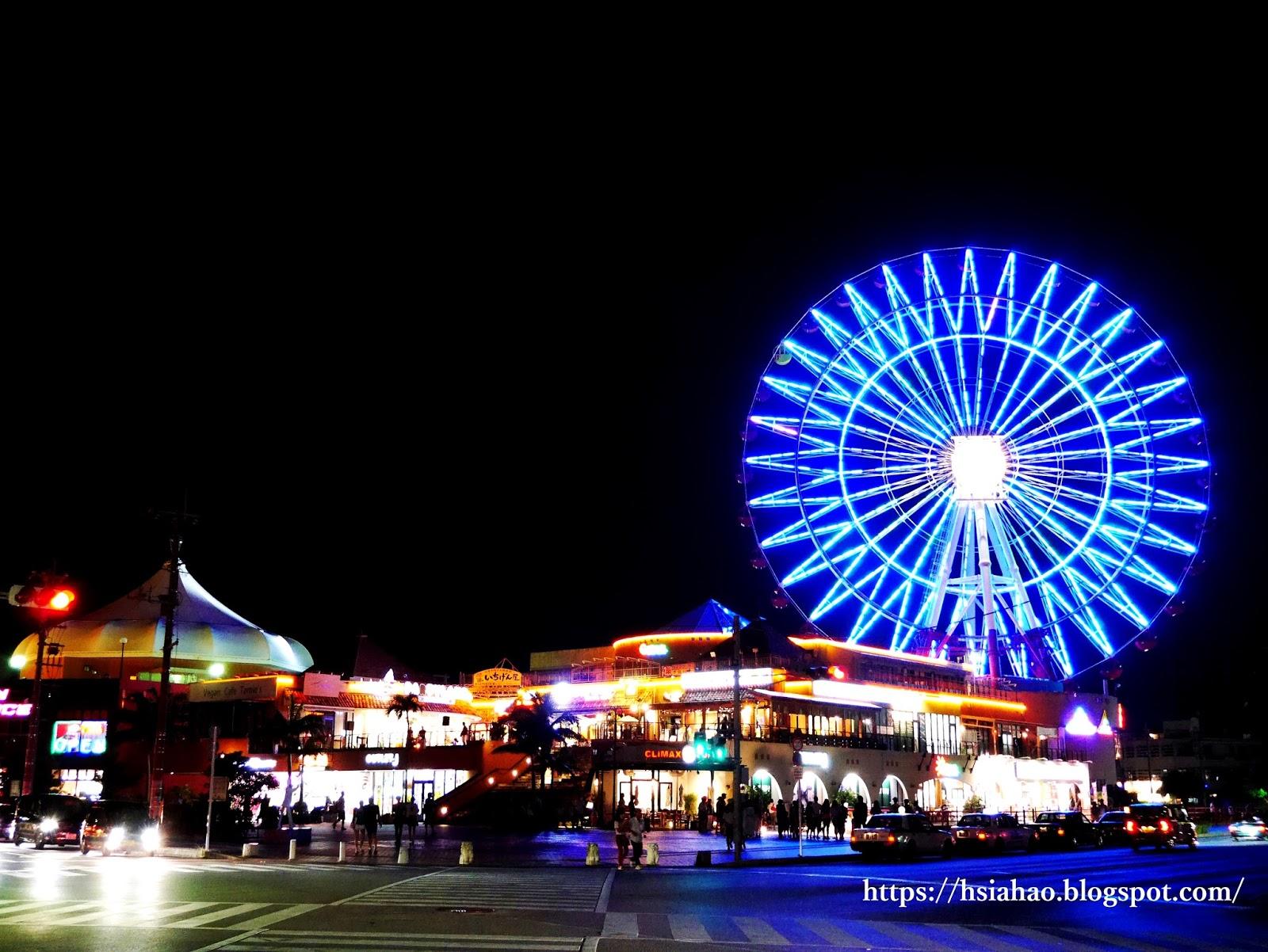 沖繩-美國村景點-推薦-美國村-摩天輪-美國村住宿-american-village-自由行-旅遊-Okinawa