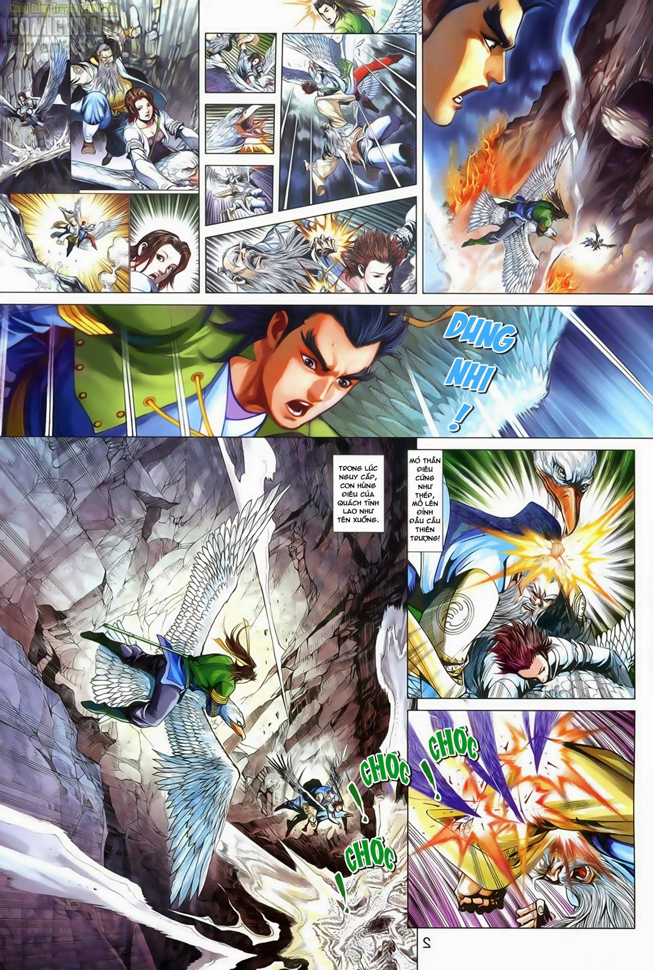 Anh Hùng Xạ Điêu anh hùng xạ đêu chap 70: hắc chiểu ẩn nữ trang 3