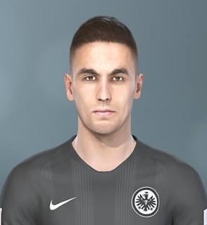 PES 2019 Faces Mijat Gaćinović by Sofyan Andri