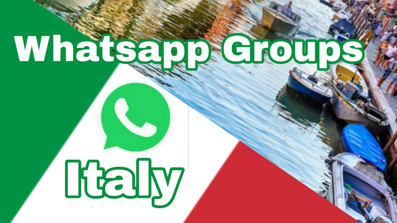 Italy's whatsapp group link | Latest Italy whatsapp group