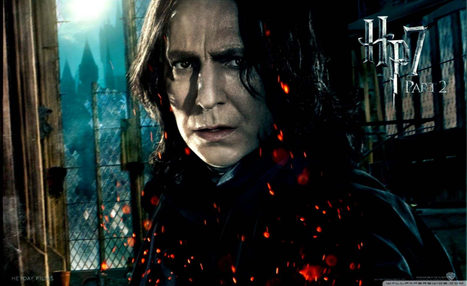 Harry Potter And The Deathly Hallows Professor Severus Snape