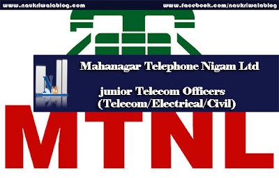 junior Telecom Officers (Telecom/Electrical/Civil) job 2016
