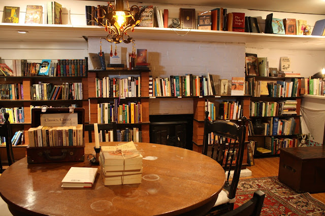 Books, books and more books at Old Fox Books and Coffeehouse
