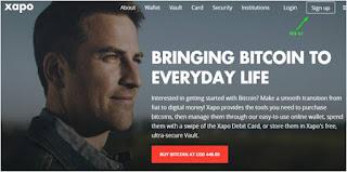 Mendapatkan Penghasilan Bitcoin Gratis menggunakan  XAPO Wallet