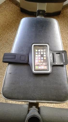 Cell Pro IPhone 6 SPORTS Armband- A Little Bit Of Something- great for exercising when you go to the gym.
