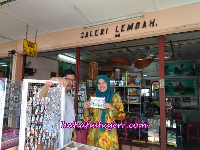 Singgah Membeli-belah Di Kedai Kraftangan Galeri Lembah Kuala Kangsar