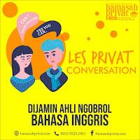 les privat conversation di bandung