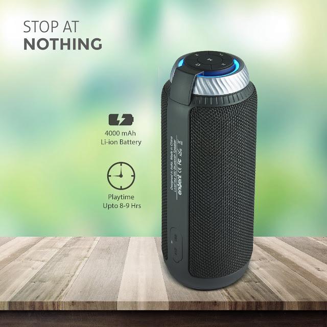 Envent Live Free ET-BTSP590 Wireless Bluetooth Speaker (Black)