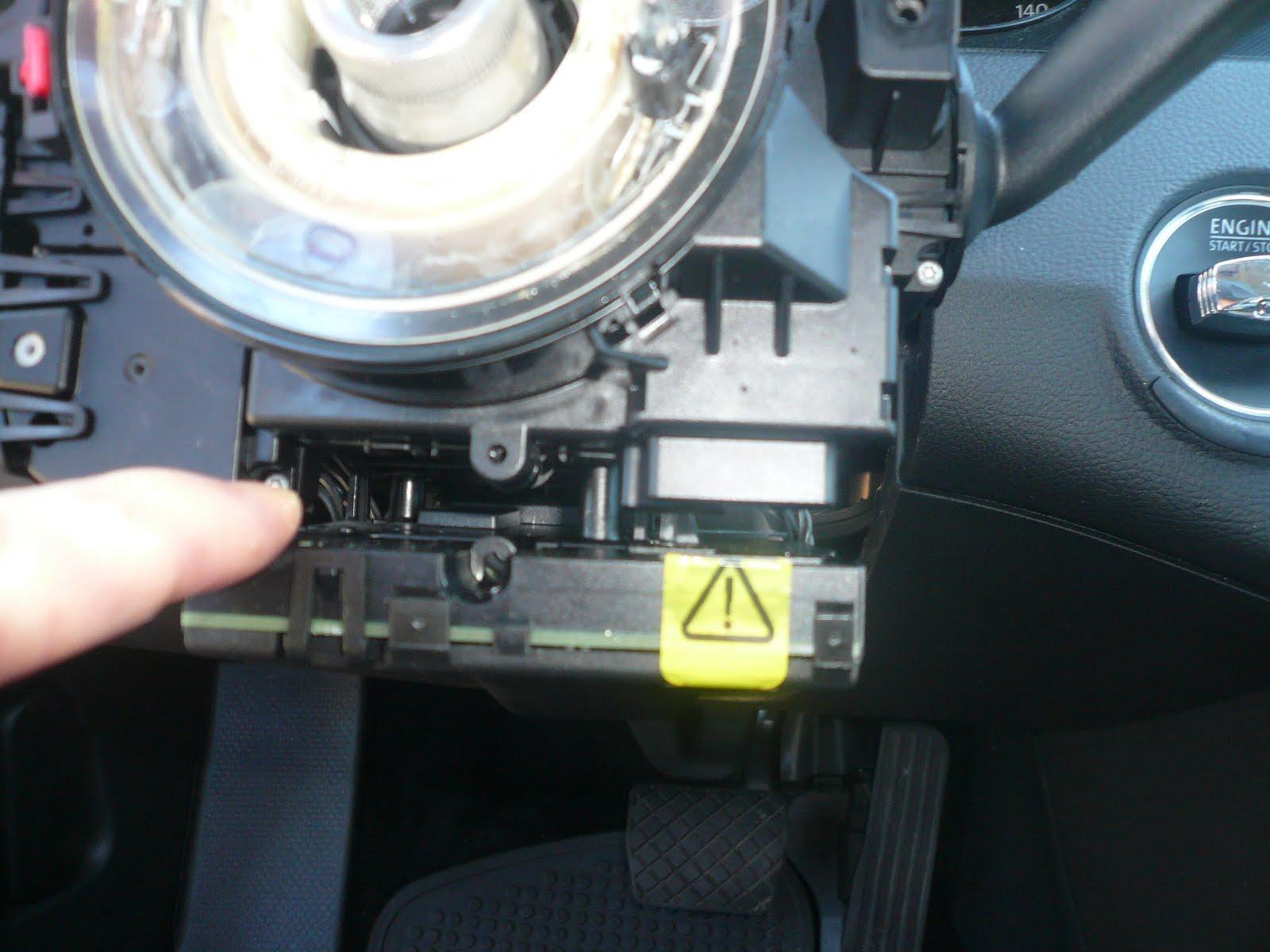 Steering Wheel Column Cover Plastic