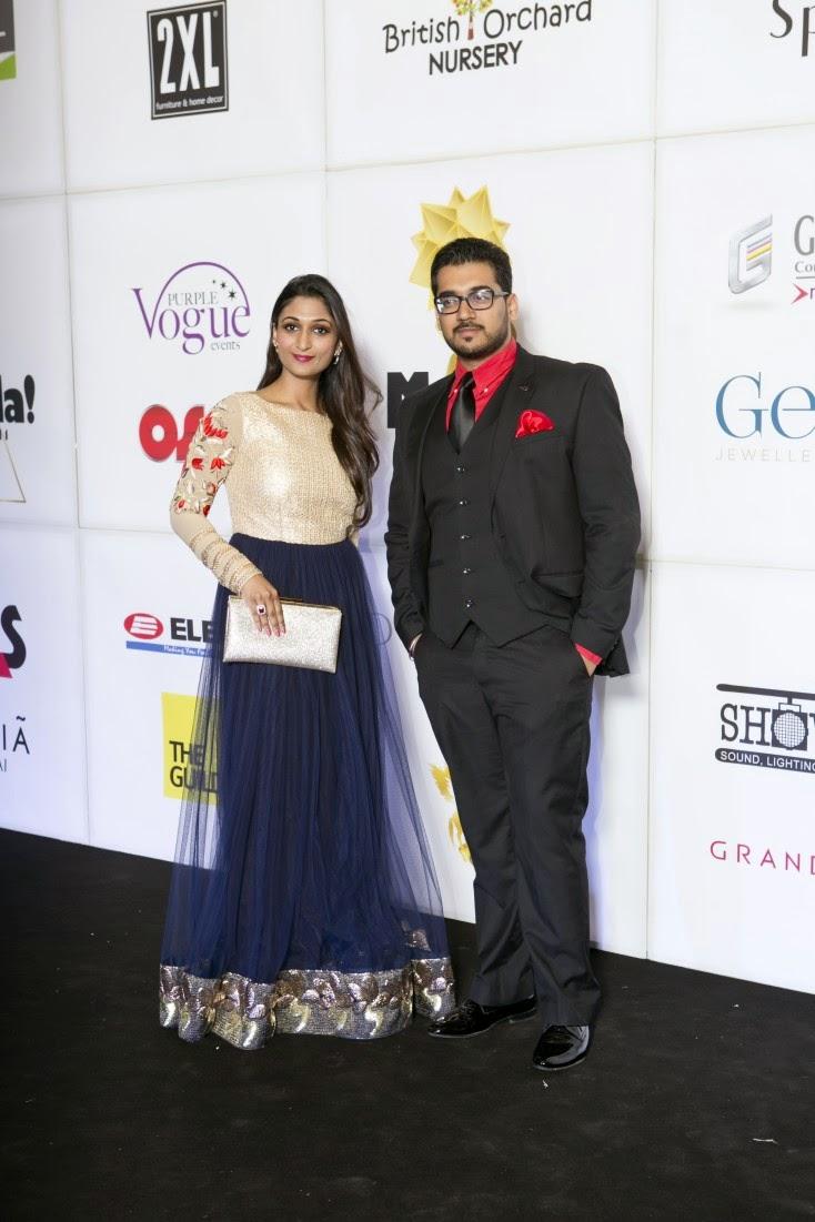 Aanya and Abhimanyu Aggarwal, Masala! Awards 2014 Photo Gallery