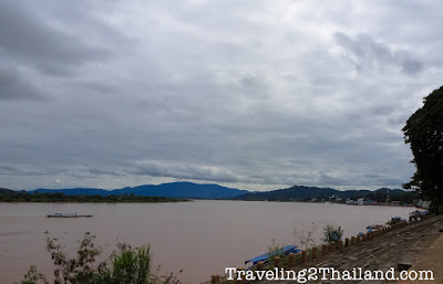 The Mekong River at Chiang Seang in North Thailand